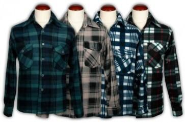 Camisas Franela de Caballero Mod. 131