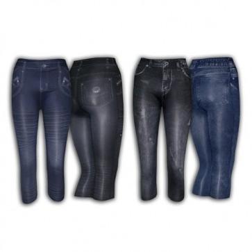 Leggins Tipo Jeans Pirata Ref. 352
