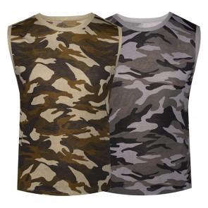 Camisetas Hombre Camuflaje Ref.  F 922
