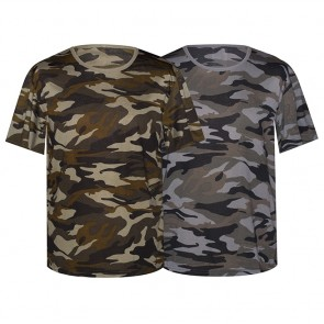Camisetas Hombre Camuflaje Ref. 5607