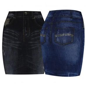 Faldas Tipo Jeans Ref. 0184