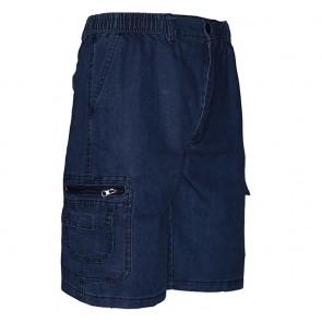 Pantalón Corto Hombre Tipo Jeans Ref. 130 A